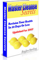 Master Cleanse Secrets Book